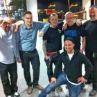 Aurinkobileet Crew: Kunkku, Eetu, Toffe, M79, HärMän ja Tamu. Kuvasta puuttuu Mikuli.
