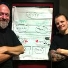 Tommi, Toffe ja Tamun analyysi tyypillisen keikan vuorovaikutussuhteista.