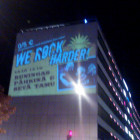 Big City Nights! Vaasassa mainostettiin isosti.