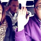 Vicky W, Tamu ja Kunkku. Hymy ei hyydy, vaikka edessä siirtymä Joensuusta Turkuun.