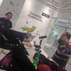 Oku Luukkaisen haastateltavana The Voicen studiolla.